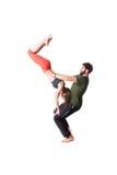 Acrobatic exercise Stock Photos
