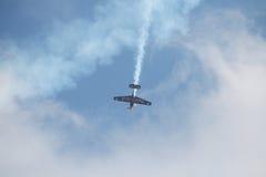Acrobatic flight Stock Photography