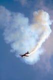 acrobatic flygplan Arkivfoton