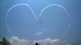 Acrobatic flygplan Fotografering för Bildbyråer