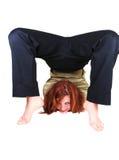 Acrobatic girl. Stock Photos