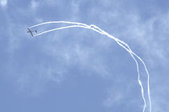 Acrobatic gliders Royalty Free Stock Photography