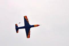 Acrobatic IAR-99 Soim plane at BIAS 2015 Stock Images