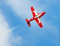 Acrobatic Jet Stock Photo