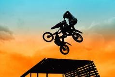 Acrobatic jump Royalty Free Stock Photo
