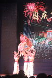 Acrobatic performances in Shenzhen window of the world�china�Asia Royalty Free Stock Images