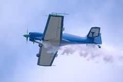 Acrobatic or stunt aircraft Royalty Free Stock Photo