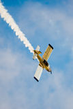 Acrobatic Stunt Plane. SAN ANTONIO, USA - October 31, 2015: Stunt Plane performing acrobatics Royalty Free Stock Photography