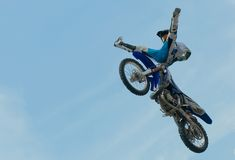 Acrobatic stunt Stock Photos