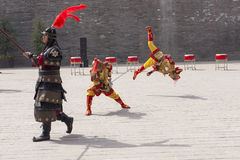 Acrobatic Xian Royalty Free Stock Images