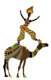 acrobatics διανυσματική απεικόνιση