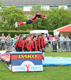 acrobatics Royaltyfria Bilder