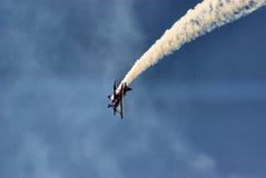 Acrobatics dell'aria Immagini Stock Libere da Diritti