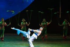 Acrobatics soft power-Acrobatic showBaixi Dream Night Royalty Free Stock Photography