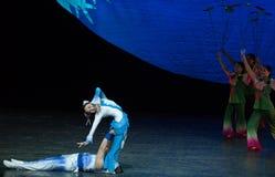 Acrobatics soft power-Acrobatic showBaixi Dream Night Stock Photo