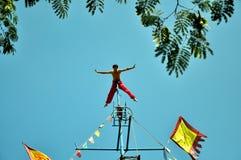 Acrobatics Wuqiao Στοκ Εικόνες