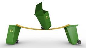 acrobaticsfack återanvänder Arkivfoto