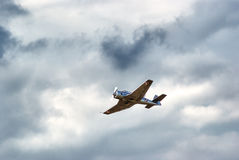 acrobaticsluft Royaltyfri Fotografi