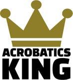 Acrobatiekkoning Royalty-vrije Stock Foto's