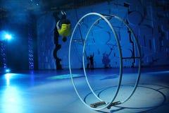 acrobaties Photographie stock libre de droits