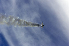 Acrobaties aériennes images stock