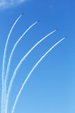 Acrobaties aériennes photographie stock