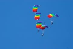 Acrobaties d'air Images libres de droits