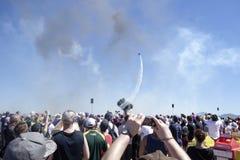 Acrobaties d'avions Images stock