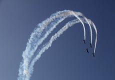 Acrobatique aérien Image stock