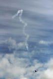 Acrobatisch Bi-vliegtuig Royalty-vrije Stock Foto