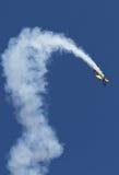 Acrobatisch vliegtuig Stock Foto