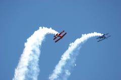 Acrobatische Vliegtuigen Royalty-vrije Stock Foto