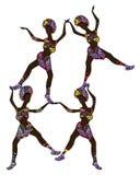 Acrobats Stock Image