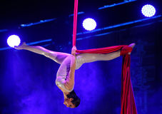 ACROBATS FROM CHINA NATIONAL CIRCUS Stock Photos