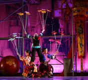 ACROBATS FROM CHINA NATIONAL CIRCUS Stock Photography