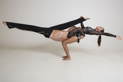 Acrobats perform Stock Images