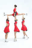 Acrobazia di Team Olympia Immagine Stock Libera da Diritti