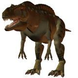 Acrocanthosaurus-3D Dinosaur Stock Images