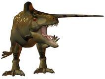 Acrocanthosaurus-3D Dinosaur Royalty Free Stock Photography