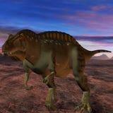 Acrocanthosaurus-3D Dinosaur Stock Image