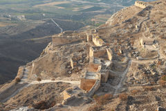 Acrocorinth Royalty Free Stock Photos
