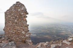 Acrocorinth Lizenzfreie Stockfotografie