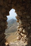 Acrocorinth das alte Korinth Lizenzfreie Stockbilder