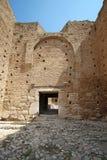 Acrocorinth die Akropolis von Korinth Lizenzfreie Stockfotografie