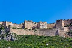 Acrocorinth Peloponesse Lizenzfreies Stockfoto