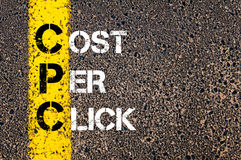 Acronym CPC- Cost Per Click Stock Photography