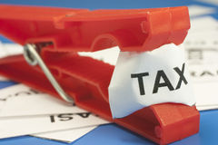 Acronyms taxes Royalty Free Stock Images