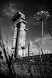 Acropilis Ruinen Stockbilder