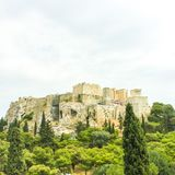 Acroplis Grekland Aten royaltyfri foto