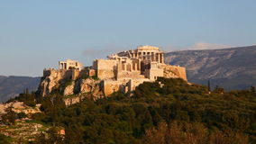 Acropole à Athènes un jour ensoleillé Photo stock